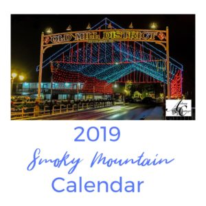2019 Smoky Mountain Calendar