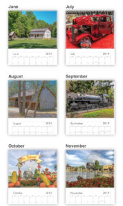2019 Smoky Mountain Calendar - 12 months with color photos