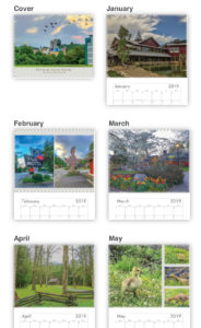 2019 Smoky Mountain Wall Calendar - 12 months of color photos