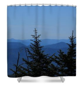 Smoky Mountain Shower Curtain